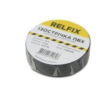 Изолента Relfix 15 мм х 10 м черная