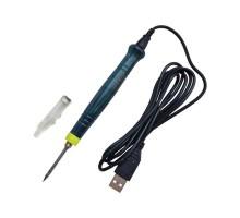 Паяльник от USB порта ZD-20U 8W DC-5V с пластиковой ручкой
