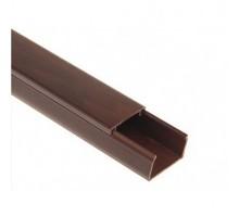 Кабельный канал 220 TM Professional 20х10x2000 мм темно-коричневый