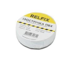 Изолента Relfix 15 мм х 10 м белая