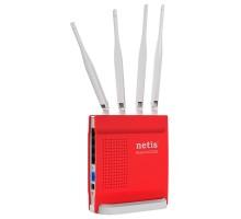 Точка доступа с сетевым адаптером NETIS WRL ROUTER 1200MBPS 1000M/4P DUAL BAND WF2681