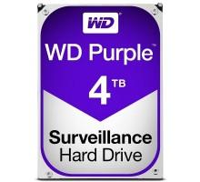 Жесткий диск 4TB Western Digital WD40PURZ для видеонаблюдения