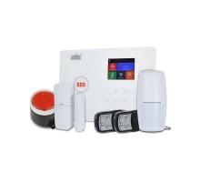 Комплект беспроводной GSM и Wi-Fi сигнализации ATIS Kit GSM+WiFi 130T с поддержкой приложения Tuya Smart